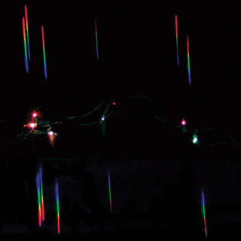 Single Axis Diffraction Grating - Single Axis Diffraction Grating (6 in. x 24 in. sheet)