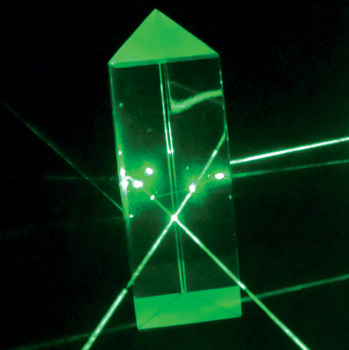 Prisms, Equilateral & Right Angle - Equilateral Prism - 25 x 75 mm  (Optical Glass)