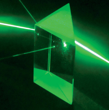 Right Angle Prism - 35 mm face  (Optical Glass)