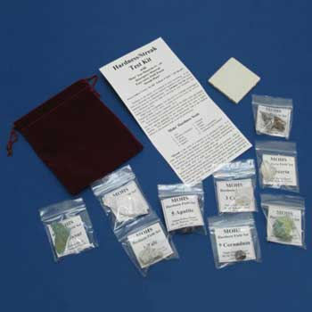 Hardness / Streak Test Kit