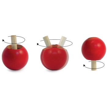 Inverting Pop Tops - Inverting Pop Tops - Red (bag of 5)
