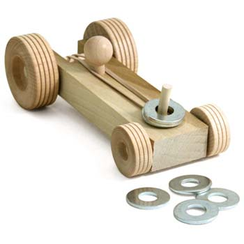 Washers for Wooden Car Kit