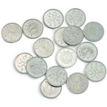 Floating Yen Coins