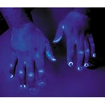 glo germ glowing hands