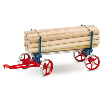 Lumber Wagon - A 425 / red & blue