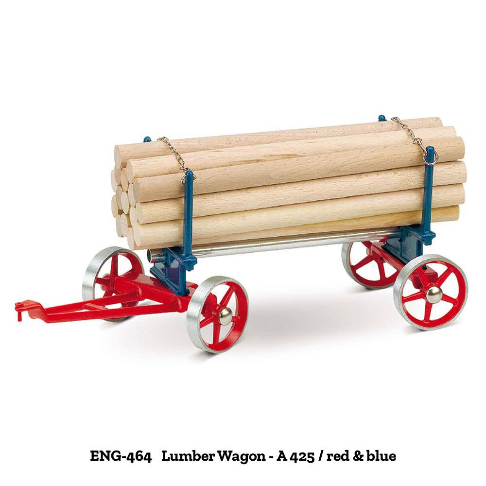Wilesco Lumber Wagons