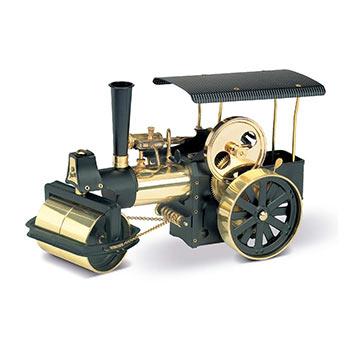 Steamroller - D 366 / black & brass