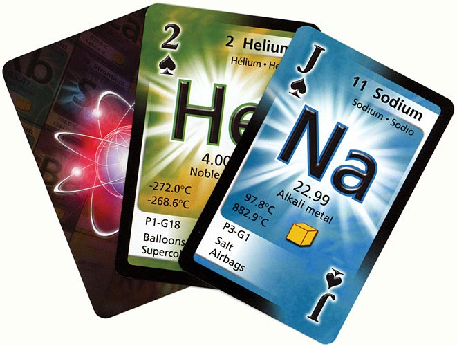 Chemistry Periodic Table Playing Cards