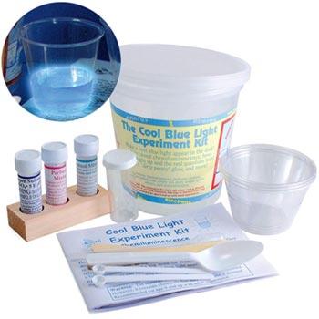 Cool Blue Light Experiment Kit - Cool Blue Light Experiment Kit