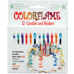 colorflame birthday candles Package