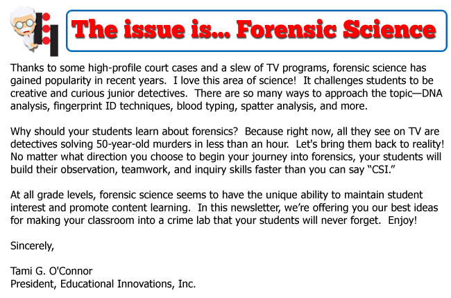 Forensic Science Dna Educational Innovations Inc