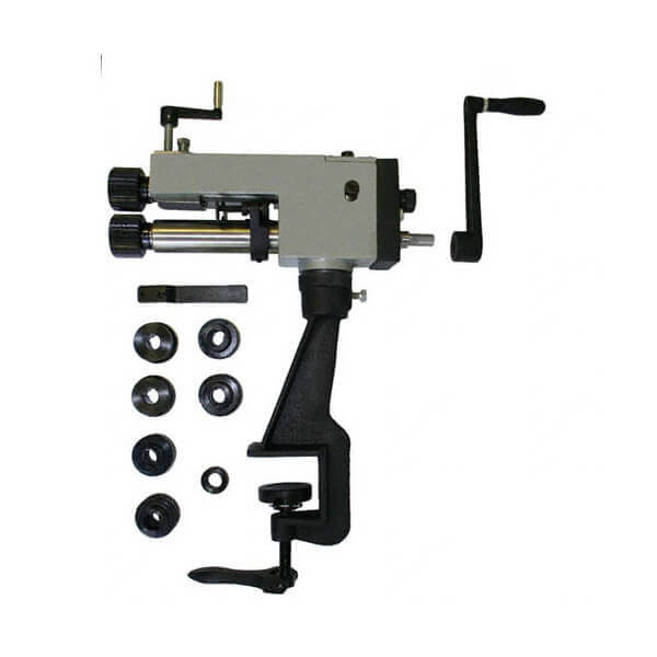 Bead Roller Sheet Metal Roller Rotary Forming Bending Machine w Stand