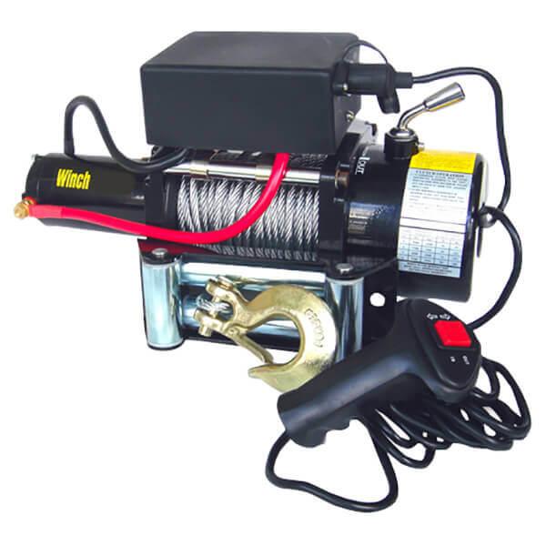 Electric Cable Winch 12 Volt Truck Boat Fairlead 12V 9500 lb