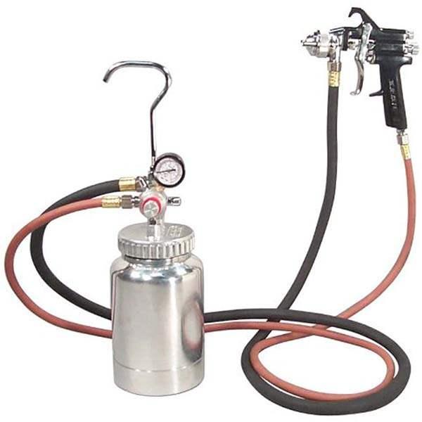 Air Paint Spray Gun 2 Quart Capacity