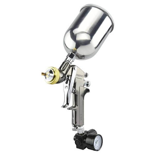 Paint Sprayer Air HVLP with Gauge 1.7 mm for Medium Paint