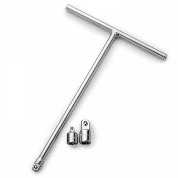 T Wrench - Neiko 3/8 Drive Long Reach T-Handle Extension Socket Wrench