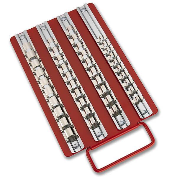 Neiko Tools 40 piece Sockets Tray Rack 02458A
