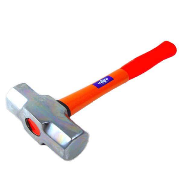 Neiko Tools 3.3 lb. Fiberglass Handle Sledge Hammer 02867A