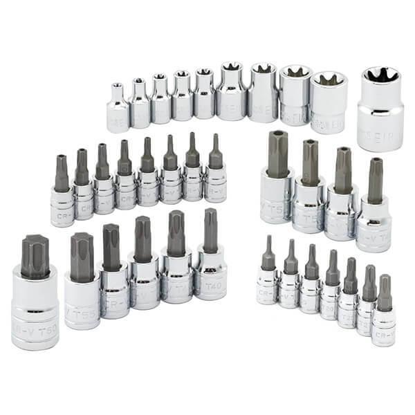 Neiko Tools 35 piece Torx Bit and E-Socket Set 10070A
