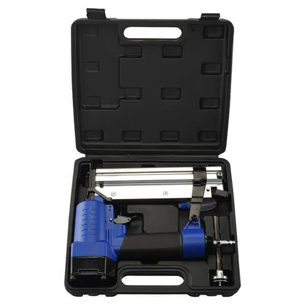 Air Nail Gun Nailer Stapler Kit 18 Gauge 2 in 1