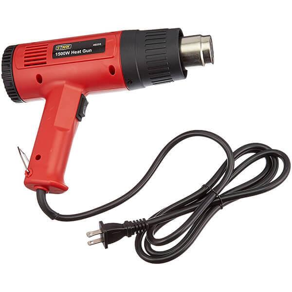 700 F & 925 F 1500 W, 2 Speed Heat Gun, UL/CUL