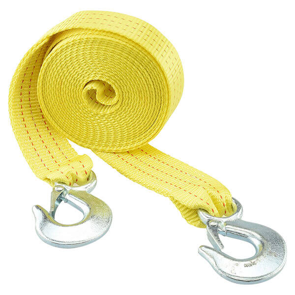 Neiko Tools 2 Inch x 20 ft. Tow Towing Strap with Hooks 51005A