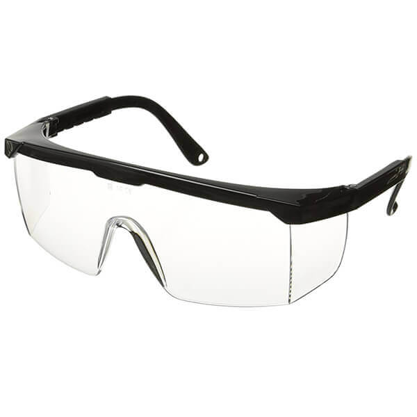 Polycarbonate Safety Eye Protector Glasses (Clear)