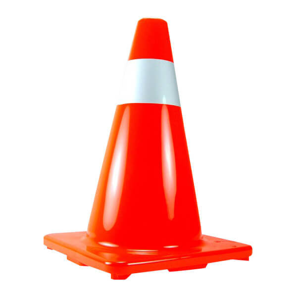 Neiko Tools 28 Inch Soft Orange Traffic Safety Cone 53859A