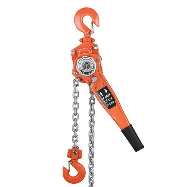 Chain Hoist Lever Block Puller Winch 5 ft. Lift 6 Ton Capacity