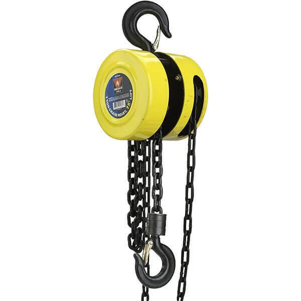 Chain Hoist 1 Ton with 15 Foot Lift Neiko 02182A