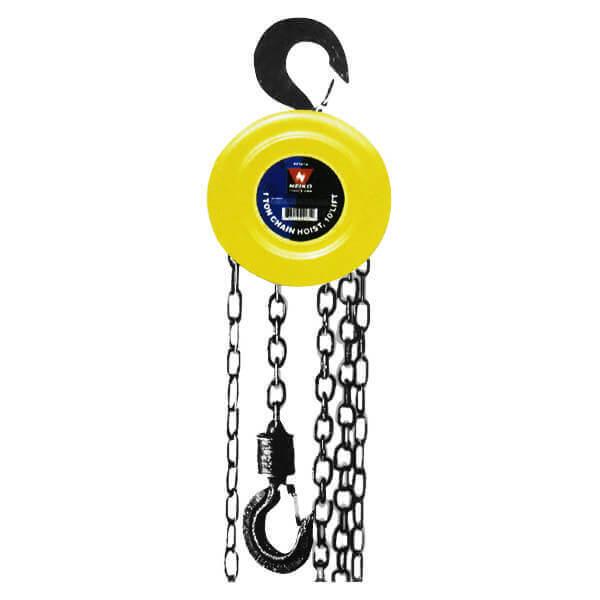 Neiko 3 Ton Capacity 10 ft. Lift Chain Hoist Puller 02187A