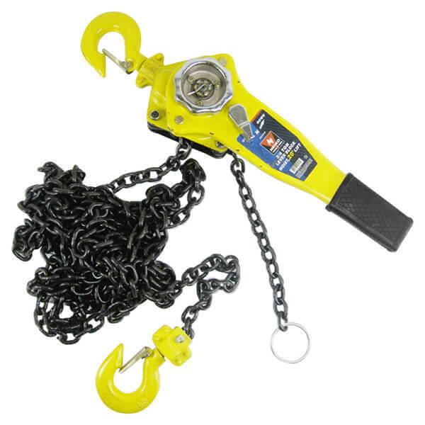 Neiko 3 Ton Capacity 5 Ft. Lift Lever Block Chain Hoist Puller 02195A
