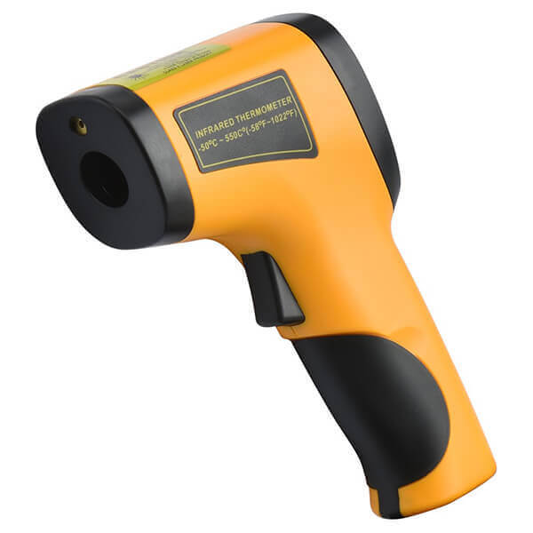 Infrared Non Contact Thermometer -58 to 1002 Degree Range LED Display
