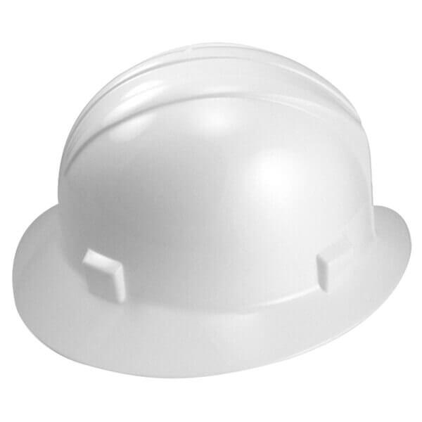 Neiko Tools Full Brim Safety Helmet Hardhat White 53877A