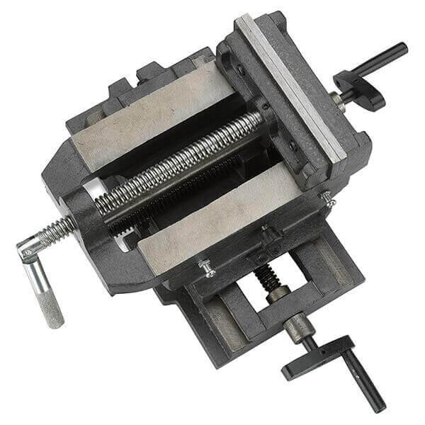 6 Inch Cross Slide Drill Press Vise X-Y Compound Heavy Duty Steel