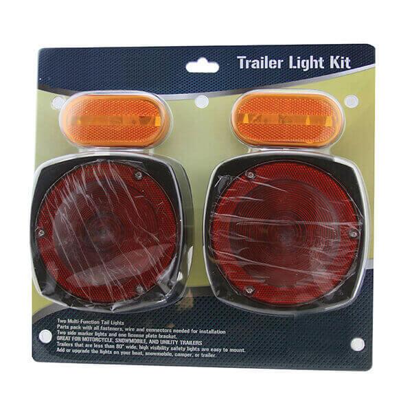 Trailer Towing Light Kit Automotive Car Truck