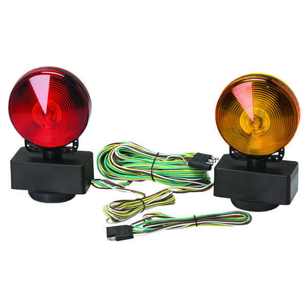 Magnetic Trailer Towing Light Kit Automotive Car Truck