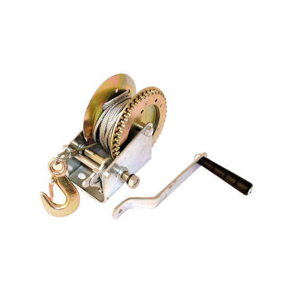 Cable Hand Crank Winch 2000 lb.