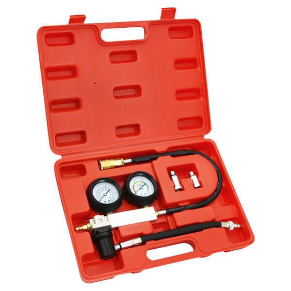 Automotive Engine Cylinder Compression Leak Down Detector Test Kit