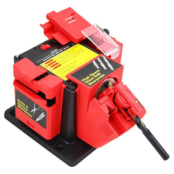 Drill Bit Chisel Knife Sharpener Electric 3 in 1 Multifunction Machine
