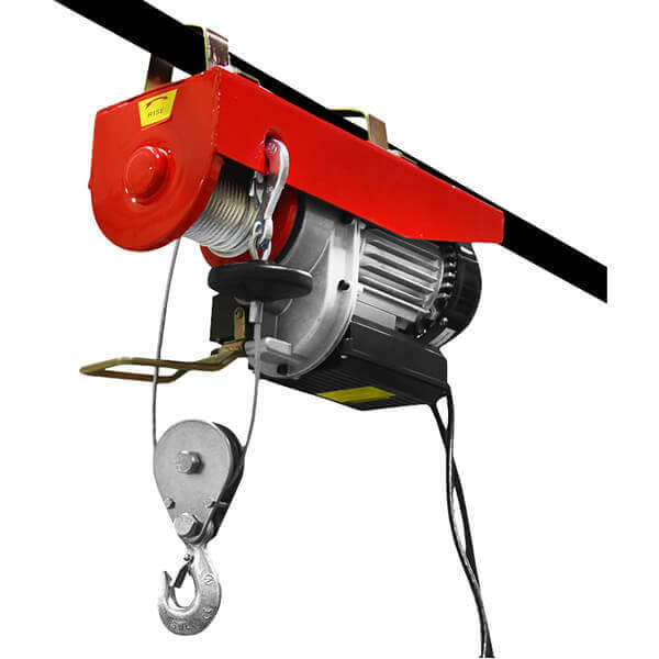 Electric Winch Hoist Steel Cable 1000 / 2000 lb. Single or Double Line