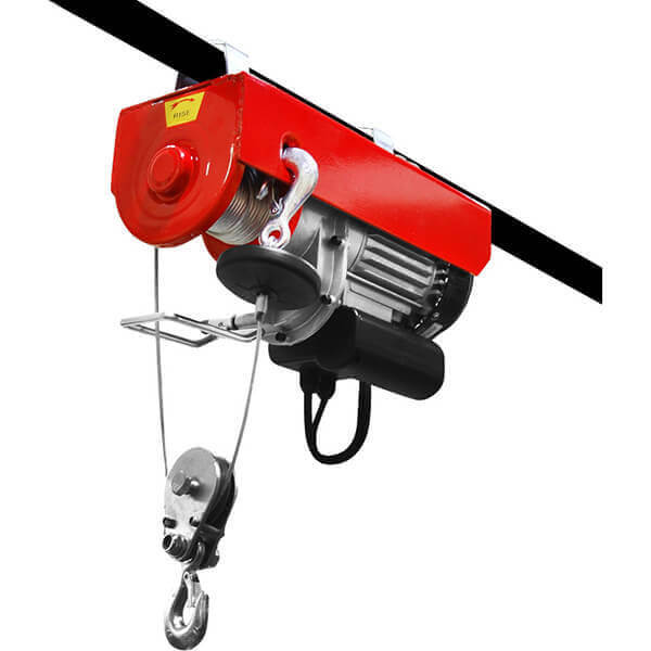 Electric Hoist Winch Steel Cable 440 / 880 lb. Single or Double Line