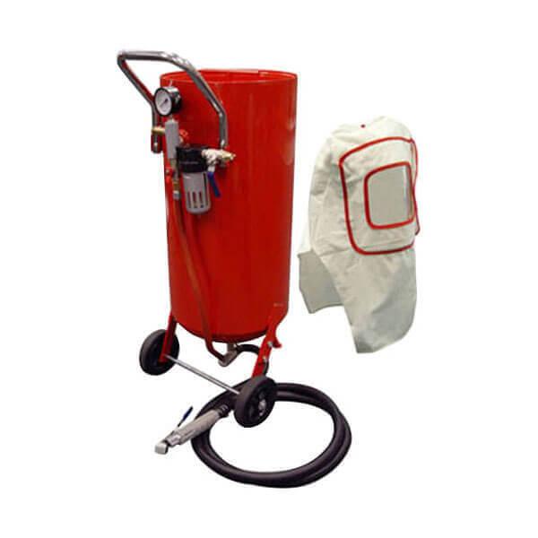 Sandblaster - 20 Gallon Sandblasting Air Sand Blasters Pressure Tank