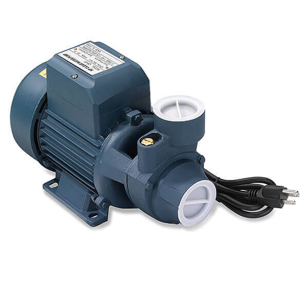 Water Pump Electric Clear Centrifugal 1/2 HP 1 Inch Inlet Outlet