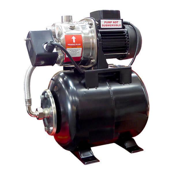 Well Pump Shallow Water Pressure Booster Pump Jet Pond 3 Gallon 1 HP