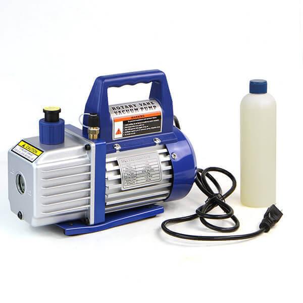 Refrigerator Vacuum Pump High Efficiency 1/4 Electric HP Motor 3 CFM