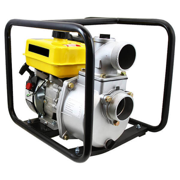 Trash Water Pump Portable Gas Operated 7 HP Engine 2 and 3 Inch EPA