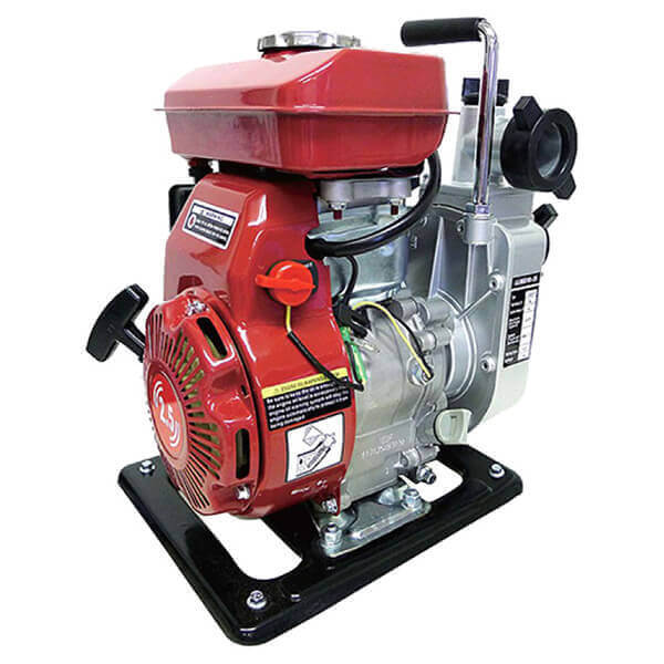 Gas Powered Water Pumps - Trash Water Pump Portable 2.5 HP Gasoline