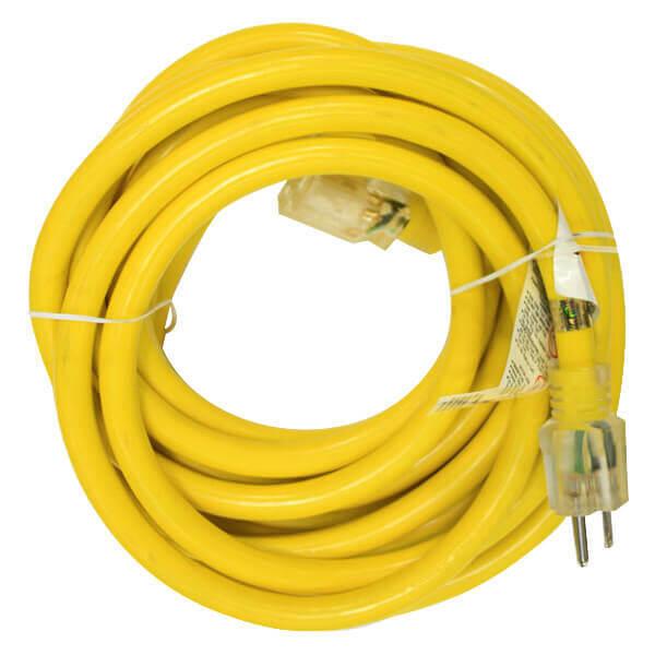 Extension Cord Electrical Indoor Outdoor 25 ft. 10 Ga.