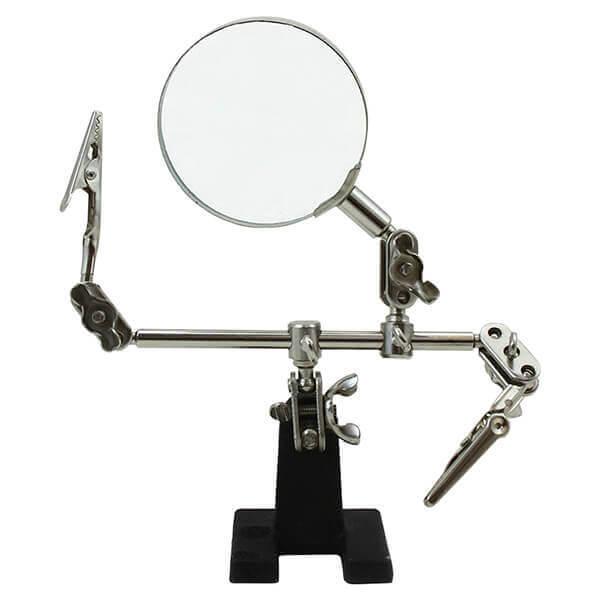 Helping Third Hand with Magnifying Glass Jewelry and Watch Repair